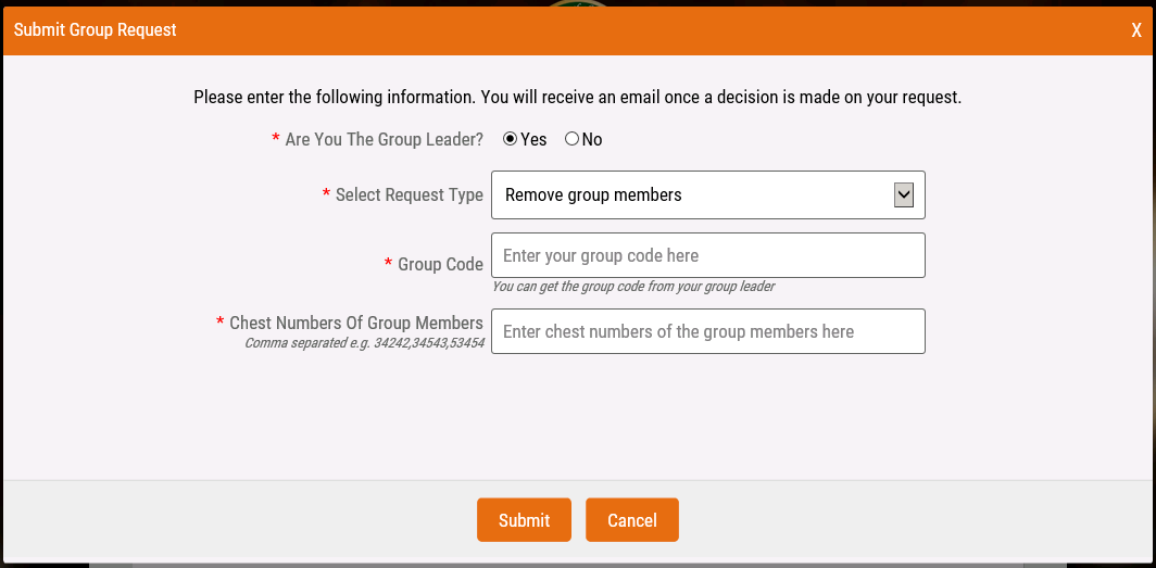 How can I remove group members